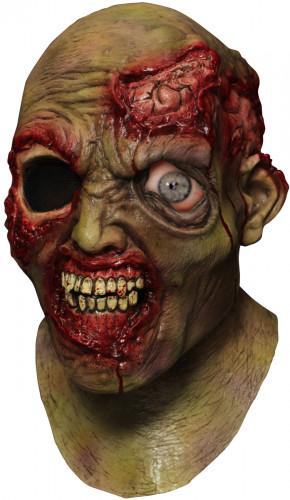 Heltäckande mask animerad enögd  Zombie  vuxen
