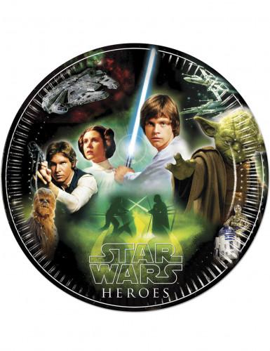 8 Papperstallrikar 23cm Star Wars ™