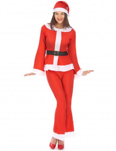 Tomtedräkt med byxor - Juldräkt för vuxna