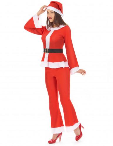 Tomtedräkt med byxor - Juldräkt för vuxna-1