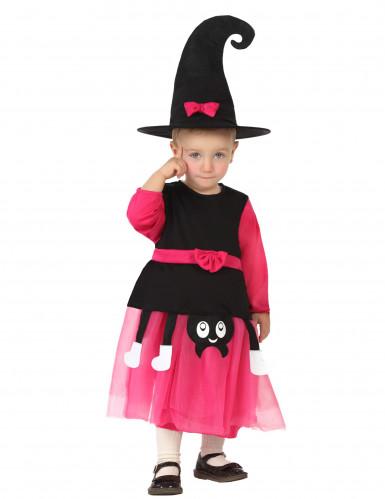 Häxdräkt för bebisar till Halloween