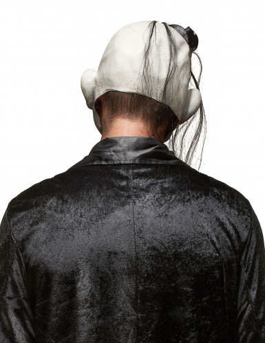 Skrämmande Rockclownmask Halloween Vuxen-1