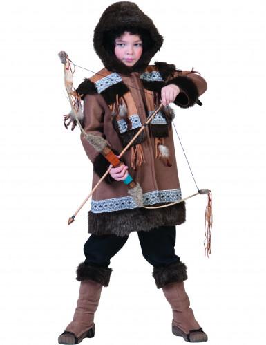 Eskimåinspirerad kostym för barn