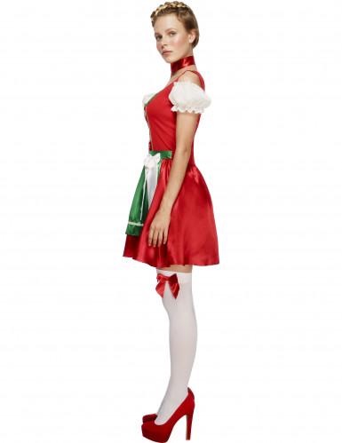 Röd Oktoberfestklänning-1