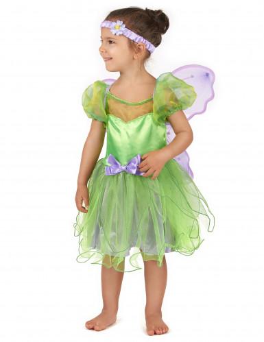 Grön älva - Maskeraddräkt för barn till kalaset-1