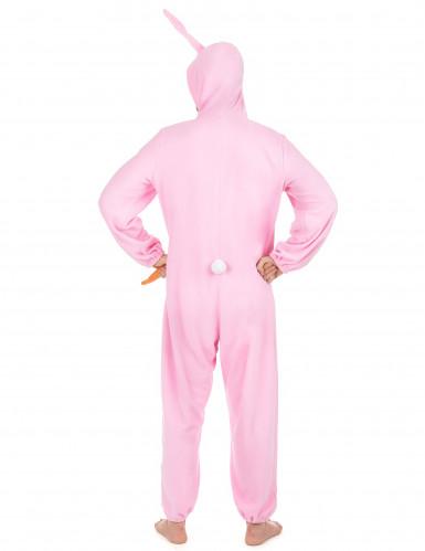 Kanindräkt Rosa Man-2