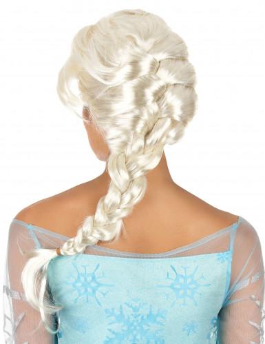 Peruk blondin med fläta-1