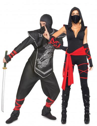 Herr & Fru Ninja - Pardräkt Vuxna