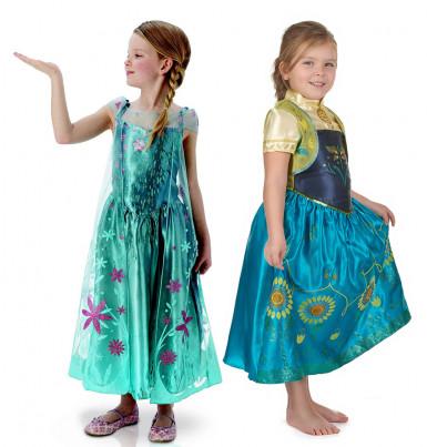 Anna & Elsa Frost™ - Pardräkt för barn