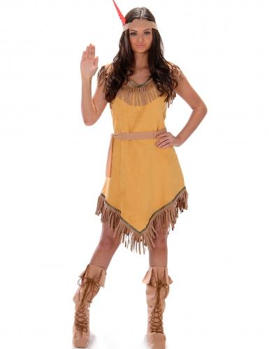Indian-utklädnad vuxen