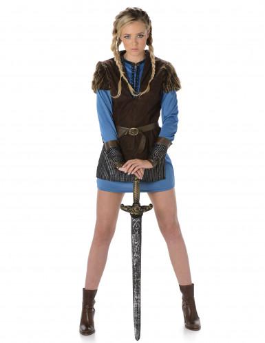 Vikinga krigare - Maskeraddräkt för vuxna