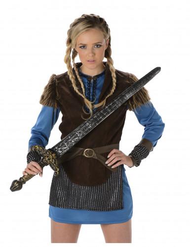 Vikinga krigare - Maskeraddräkt för vuxna-1