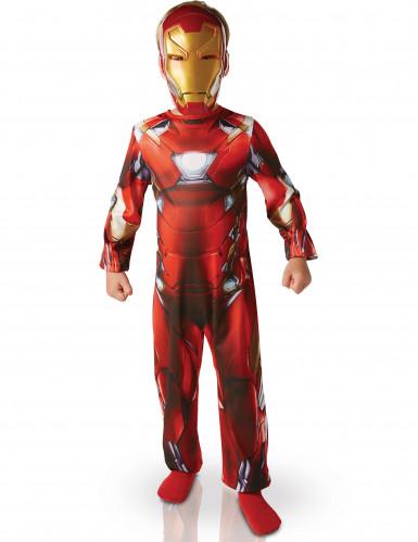 Iron Man™ Civil War Barn Maskeraddräkt