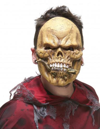 Latexmask reptilätandeSkelettvuxen-1