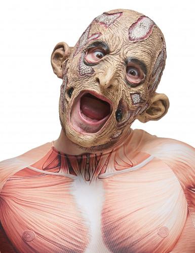 Förruttnad häxa - Halloweenmask i latex