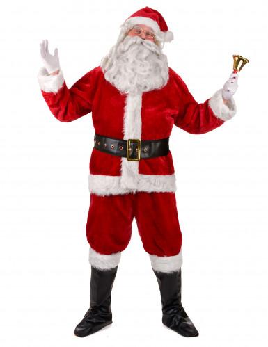 Komplett tomtedräkt för vuxna till julafton