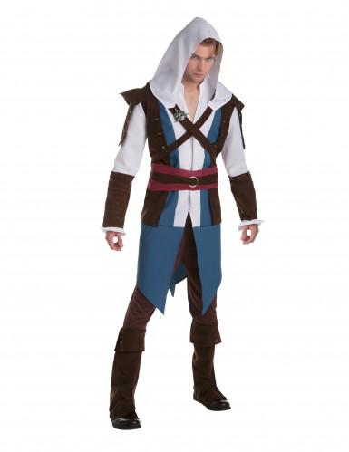 Maskeraddräkt Edward - Assassin's creed™ vuxna