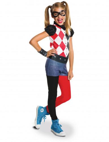 Harley Quinn™ - Superhero Girls™dräkt för barn