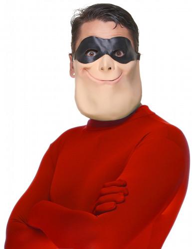 Superhjälte - Halvmask för vuxna