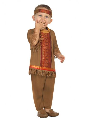 Indian Maskeraddräkt med Fransar Spädbarn