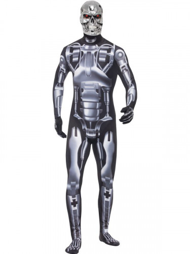 T-800 cyborg Terminator™ - utklädnad vuxen