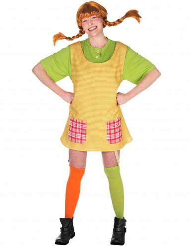 Pippi Långstrump-dräkt för vuxna
