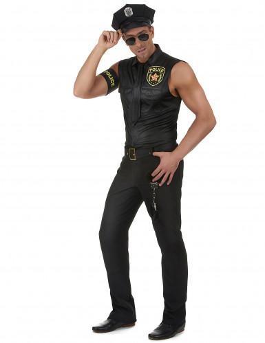 Kostym som sexig polis herrar