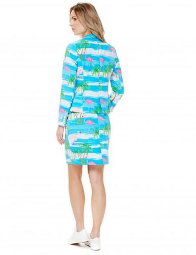 Mrs. Flamingo Opposuits™ - Kostym i damstorlek-1
