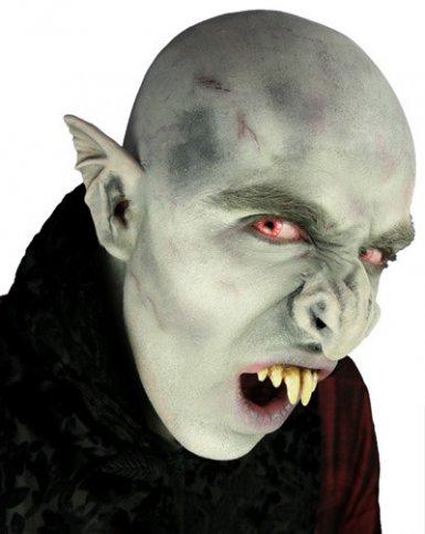 Grå vampyrnäsa i latex - Halloween sminkning