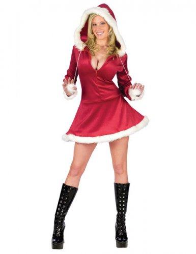 Hot Santa mama - Maskeradkläder för vuxna till jul