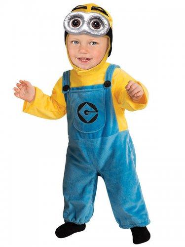 Minionen™ Dave™ - Maskeraddräkt för bebisar