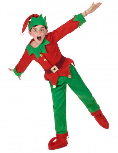 Busig tomtenisse - Maskeraddräkt för barn till jul-4