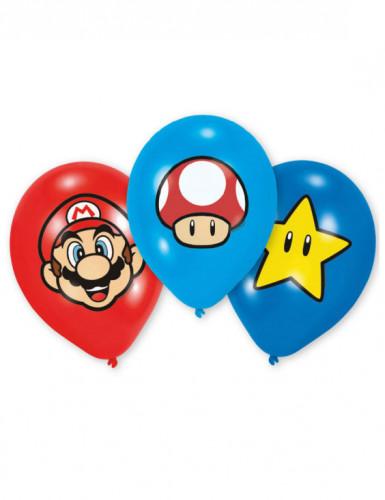 6 Super Mario™ latexballonger