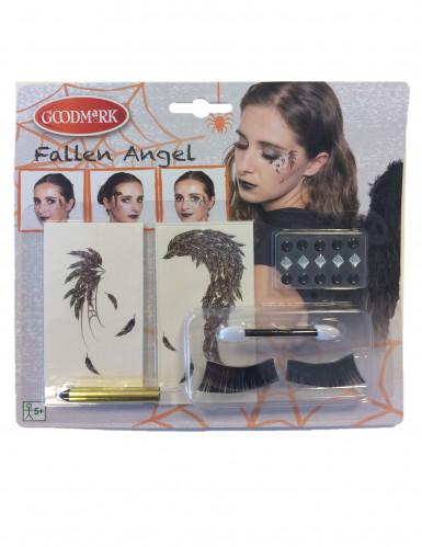 Fallen ängel - Sminkkit för vuxna till Halloween