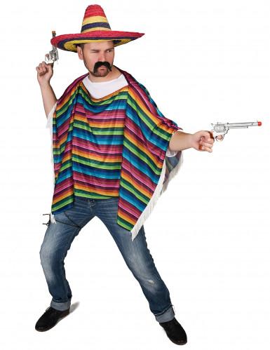 Mexikanskinpirerad poncho till maskeraden-1