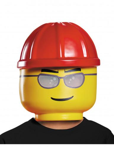 Byggarbetare - Lego®-mask för barn