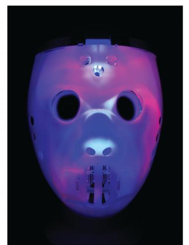 Hockeymask och dödskalle - Mask med ljus för vuxna-1