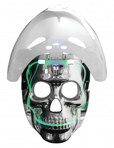 Hockeymask och dödskalle - Mask med ljus för vuxna-2