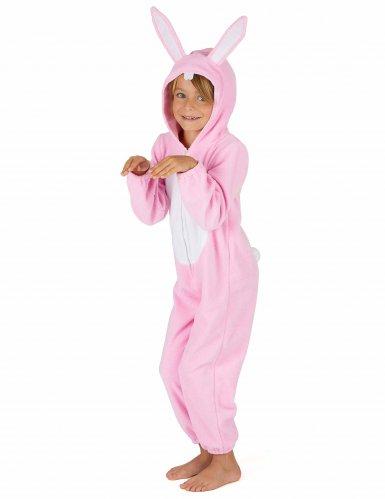 Rosa kaninoverall för barn-3