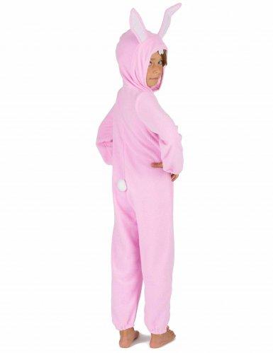 Rosa kaninoverall för barn-4