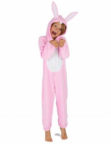 Rosa kaninoverall för barn-5