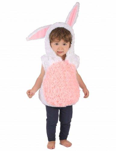 Vit kanin - Maskeraddräkt för barn
