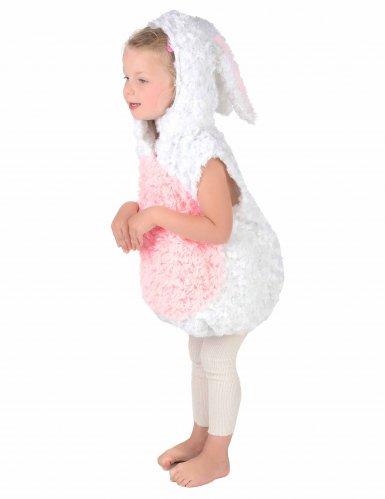 Vit kanin - Maskeraddräkt för barn-2