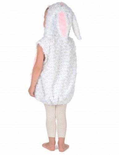 Vit kanin - Maskeraddräkt för barn-3