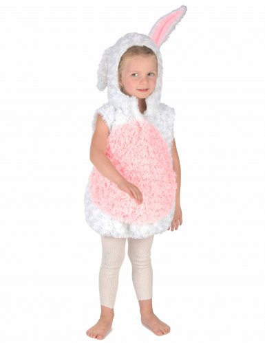 Vit kanin - Maskeraddräkt för barn-4