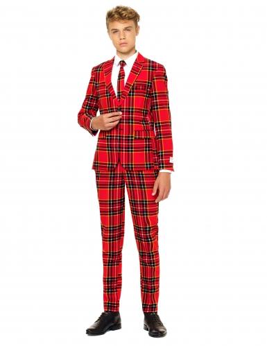 Mr.Tartan i rött för tonåringar från Opposuits™