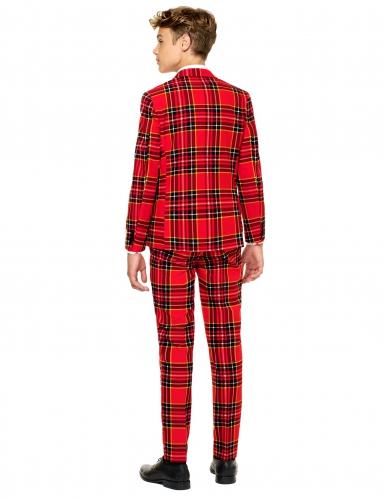 Mr.Tartan i rött för tonåringar från Opposuits™-1