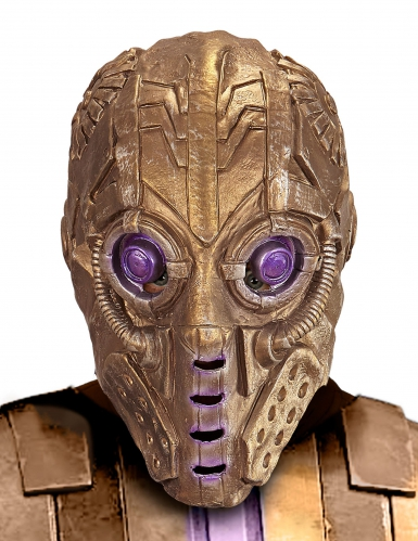 Gyllene robot - Halloweenmask för vuxna