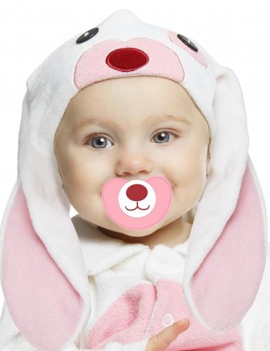Lyxig rosa kanin - Maskeraddräkt för bebisar-1