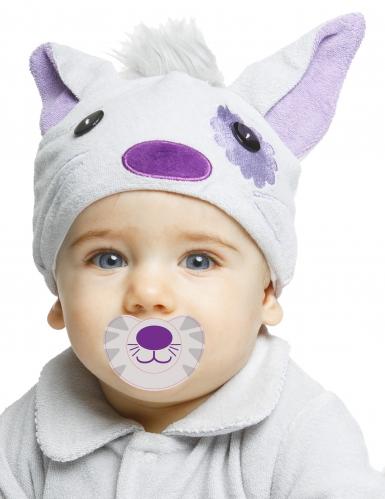 Lyxig katt - Maskeraddräkt för bebisar-1